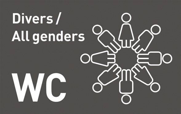 Logo all genders WC