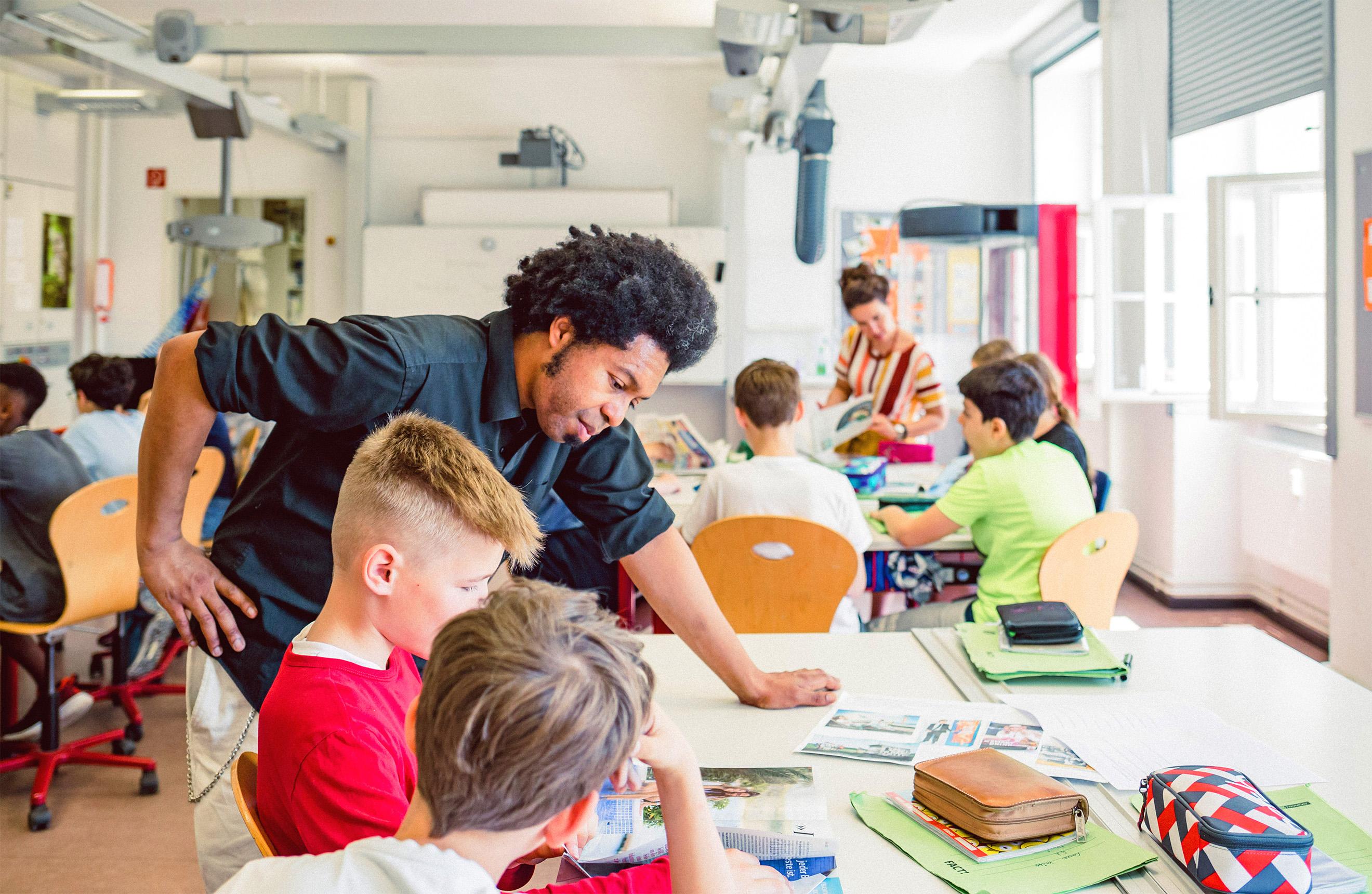 Platanus Schule Berlin | Platanus Kindergarten | Come in – We're bilingual