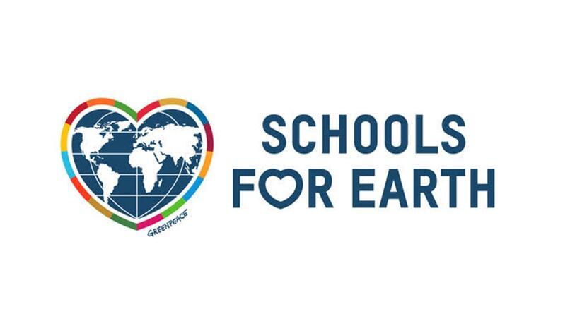 Logo Greenpeace Pilotschule